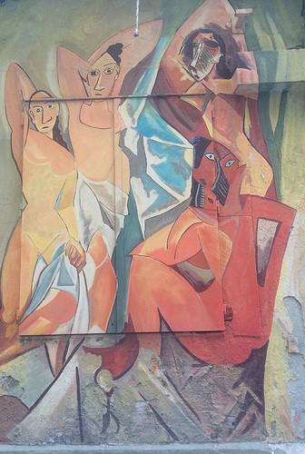 Pablo Picasso Les Demoiselles d'Avignó
