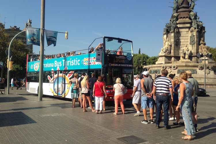 Hop On Hop Off Bus Barcelona
