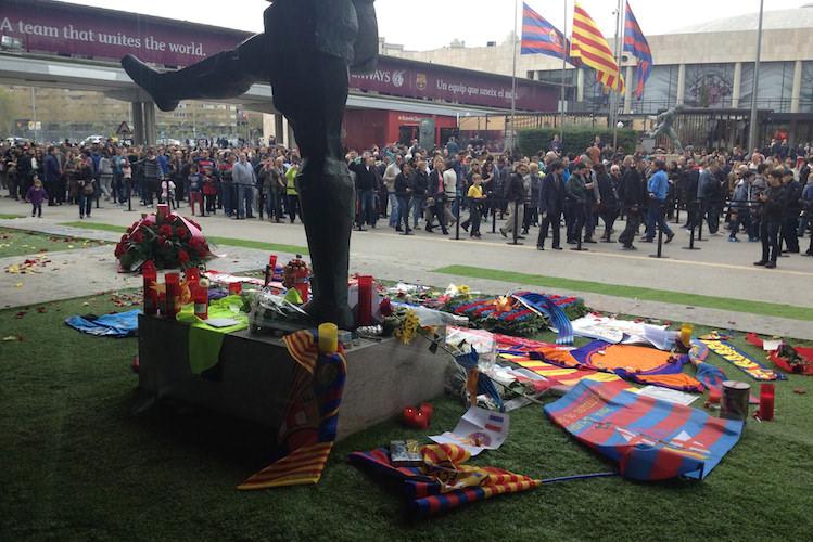Stadion FC Barcelona Camp Nou Johan Cruijff