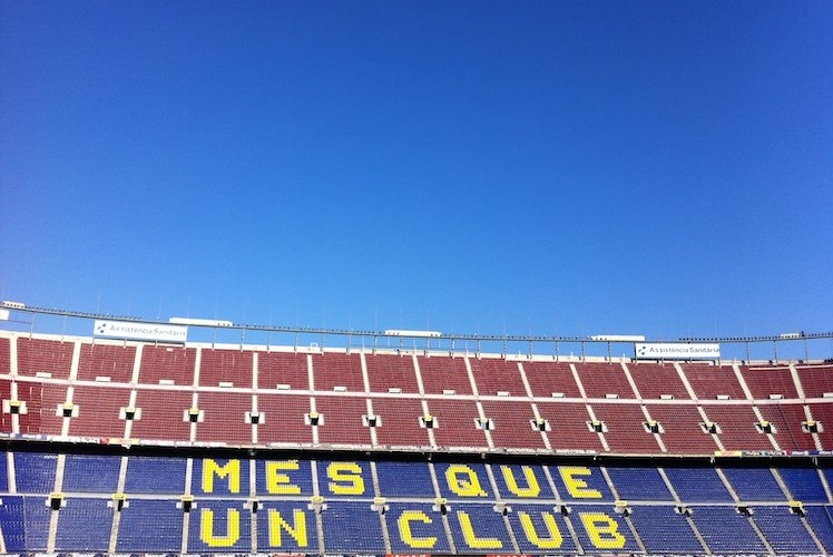 Stadion FC Barcelona Camp Nou Experience