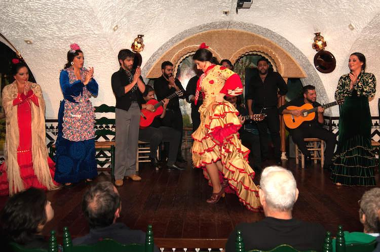 Voorstelling flamenco tablao cordobes Barcelona