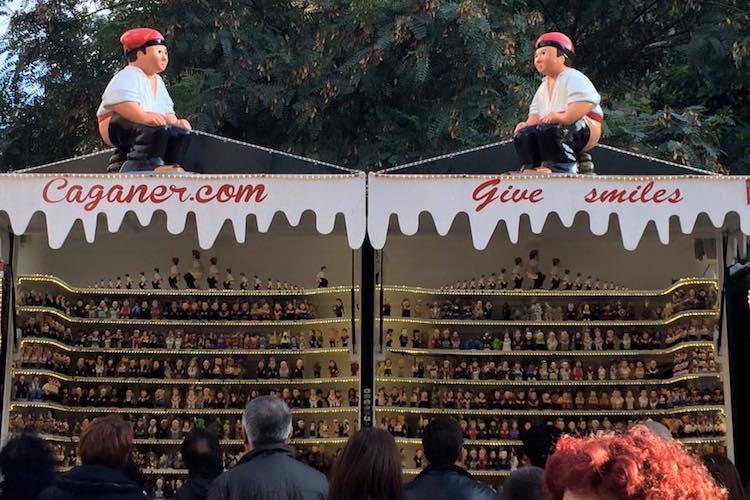 Kerstmarkten in Barcelona