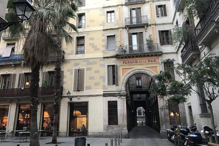 Passatge de la Pau Barcelona