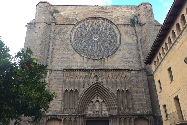Basilica del Pi Barcelona gotische wijk