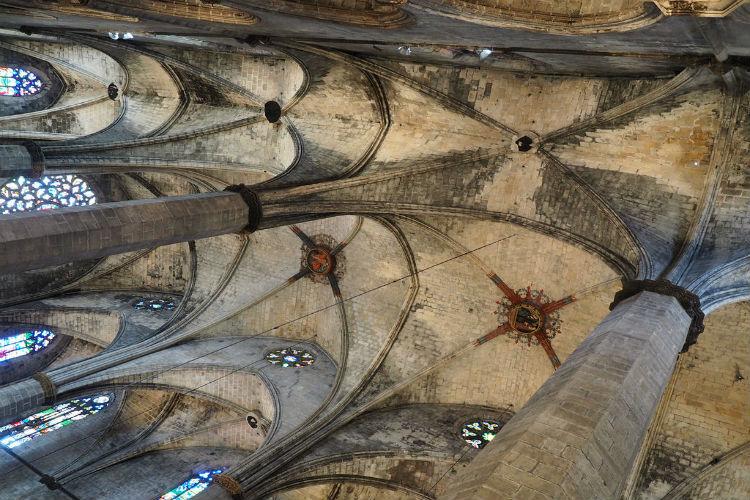 Plafond Santa María del Mar