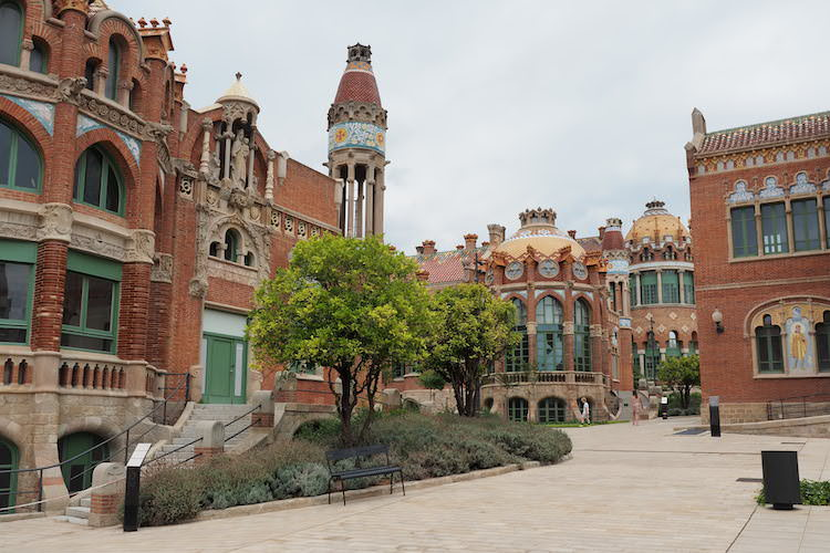 Sant Pau recinte Modernista Barcelona Foto