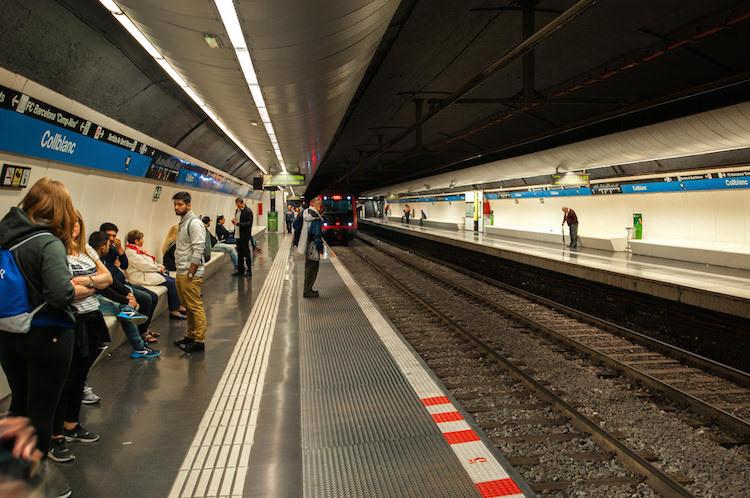 vervoer Barcelona metro